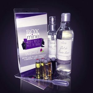 Box Mine Gel 250 ML + Body Mist 200 ML