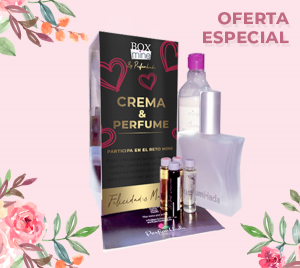Box Perfume Base 100 ML + Crema 250 ML