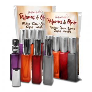 Pack Perfumes de Otoño - 4 Perfumeros 7 ml