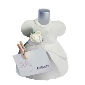 Perfume Simple Colores Vestido