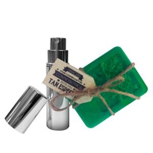 Perfumero Plata 5 ML + Jabón