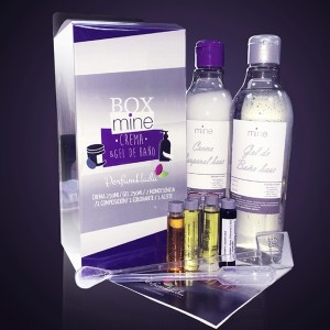Box Mine Gel 250ml + Crema 250 ml