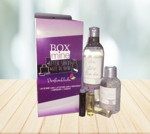 Box Mine Gel 250 ML + After Shave 100 ML