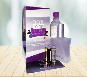 Box Perfume Base 100 ML + Crema 250 ML